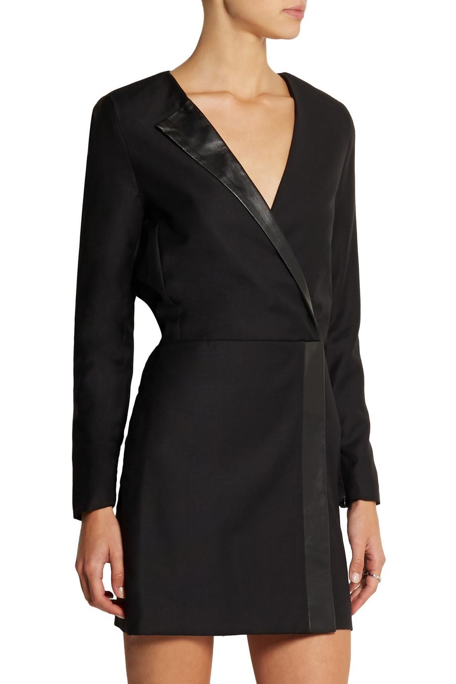 Karl Lagerfeld Emilia Wool Dress $198