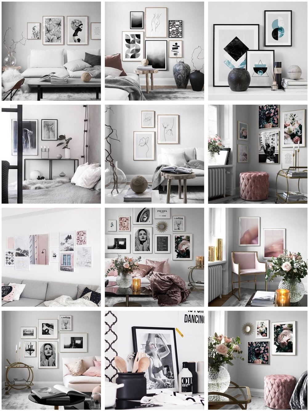 Desenio Artwork and Posters Desenio Gallery Wall | The Style Covet