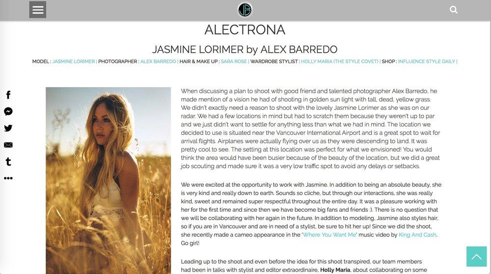 Jasmin Lorimer Alectrona Just Breezies