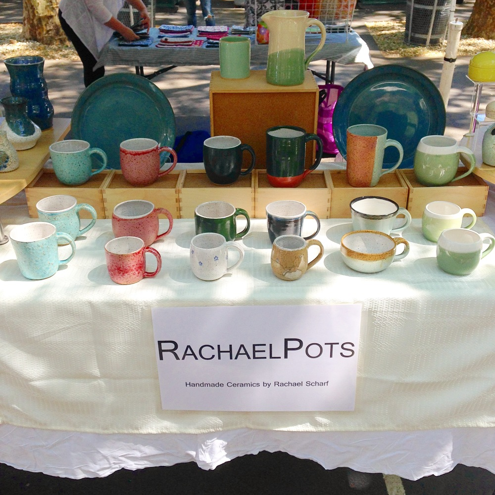 The mug set up at Hester Street!