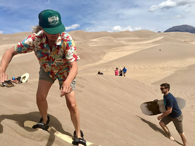 High times in high places (and winds). #sandpeople #dothedunes