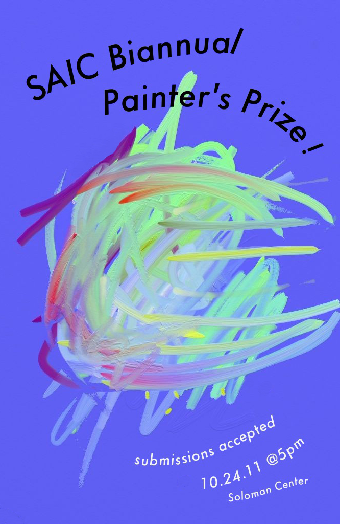 SAIC Painter's Prize Poster