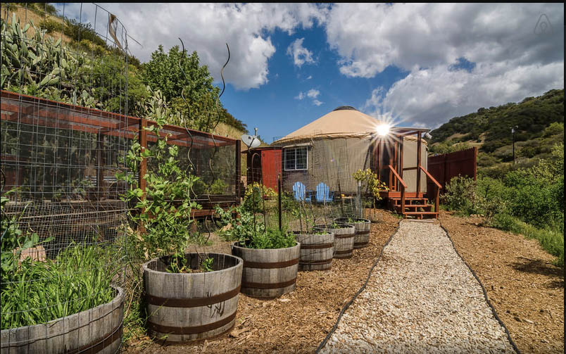 Malibu Yurt - an AirBnB Property