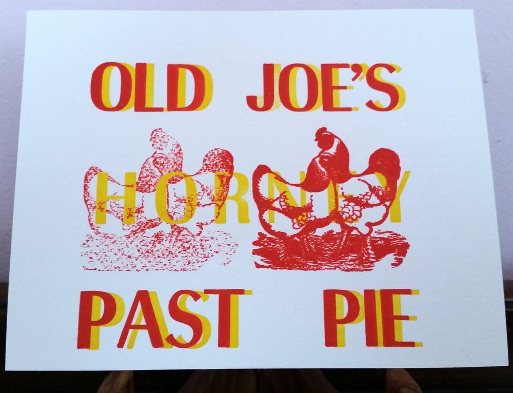 Old Joe's Horney Past Pie