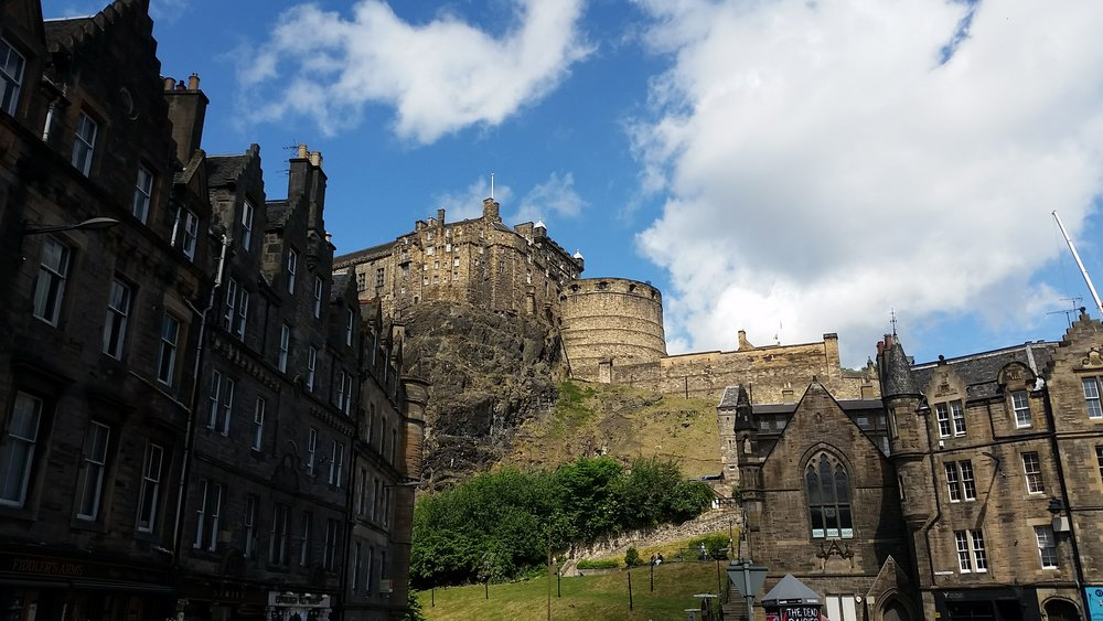 Grassmarket and The Castle