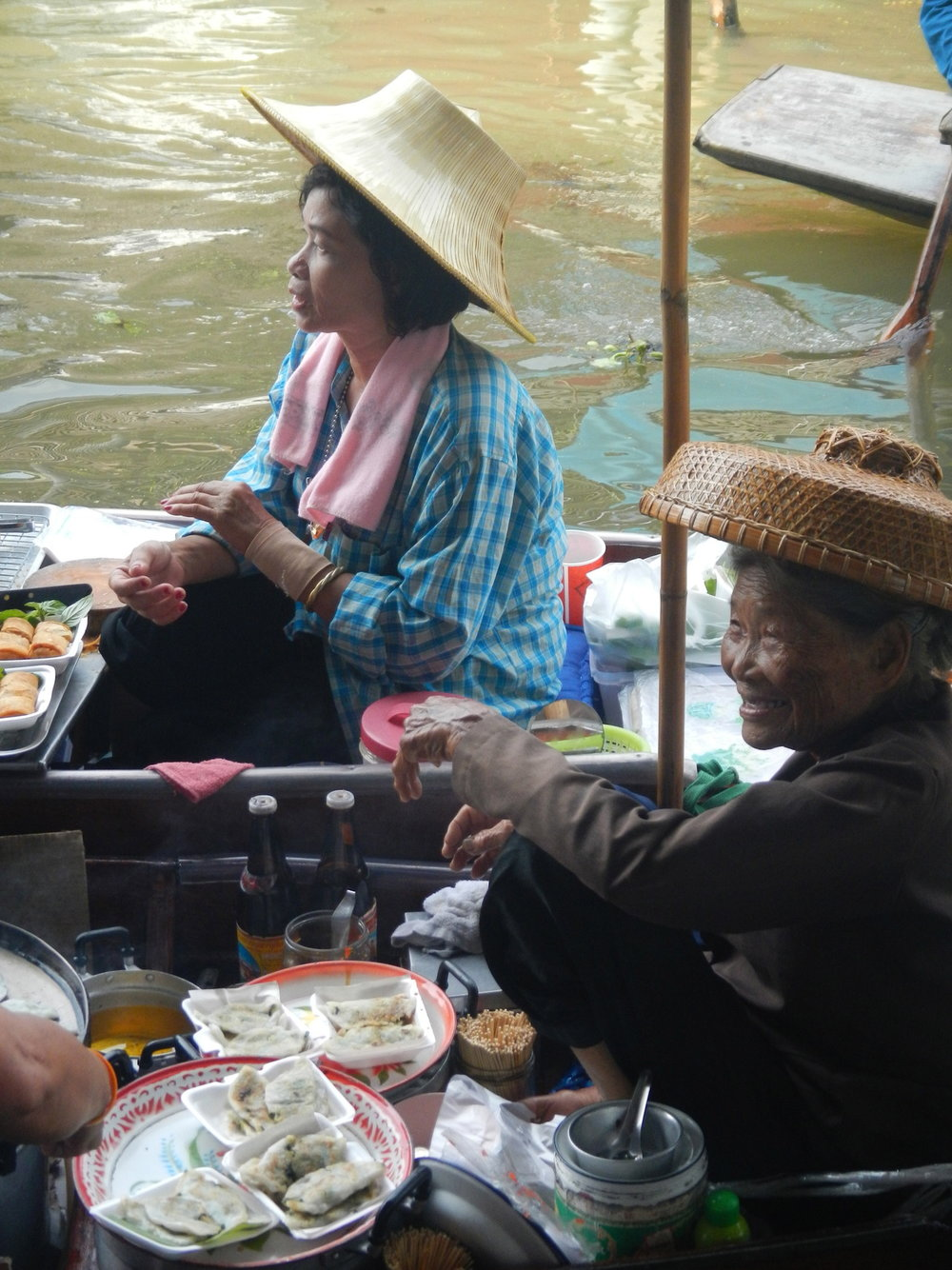 Floating Market Smiles Thailand