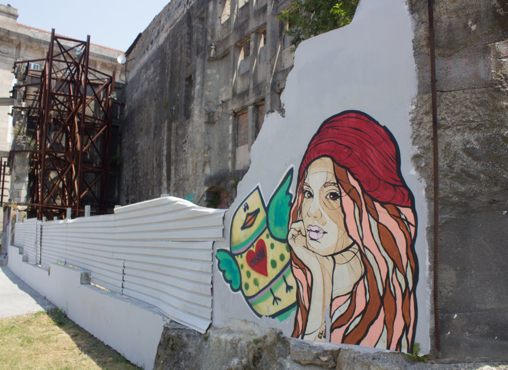Costah Street Art in Porto