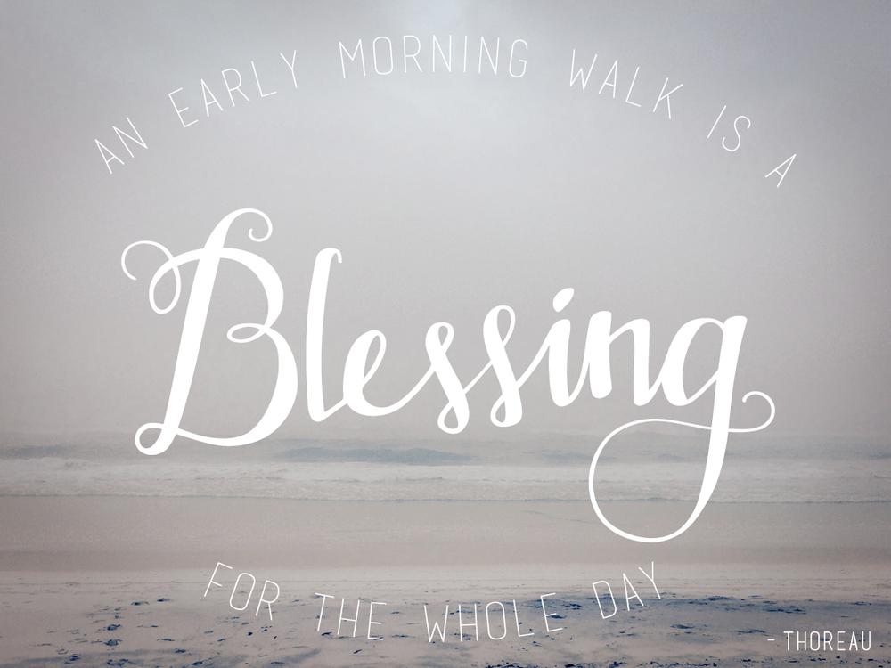 blessing-handwirtten
