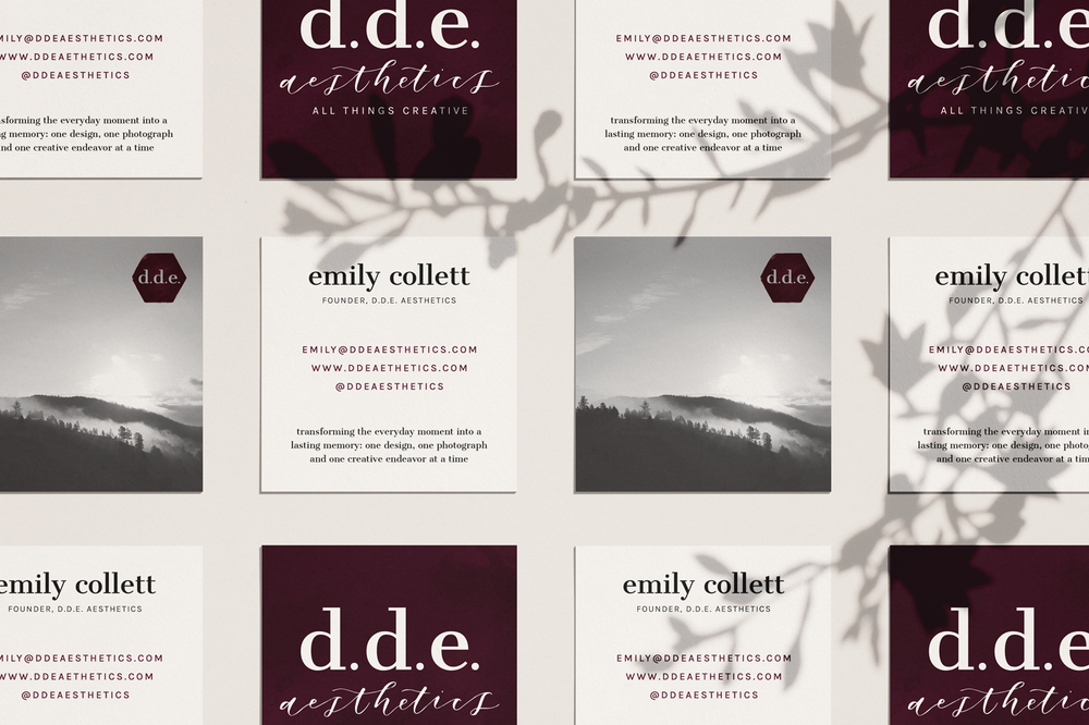 Brand Design for Photographer by Haley Grand
