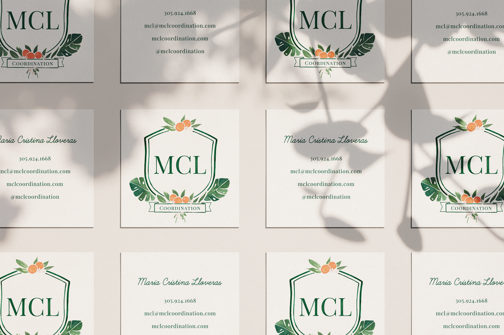 Business Card Design for Wedding Planner