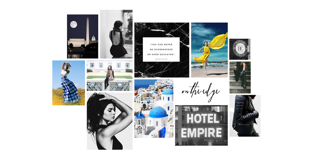 Mood Board Design for Style Blogger