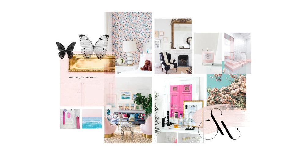 Brand Design for Interior Decorator