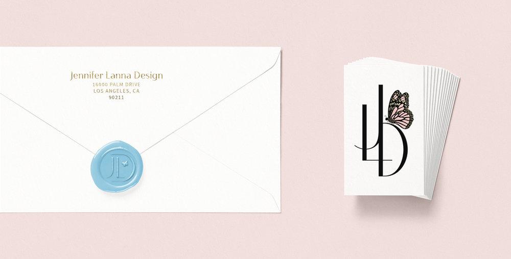 Stationery Design for Interior Decorator