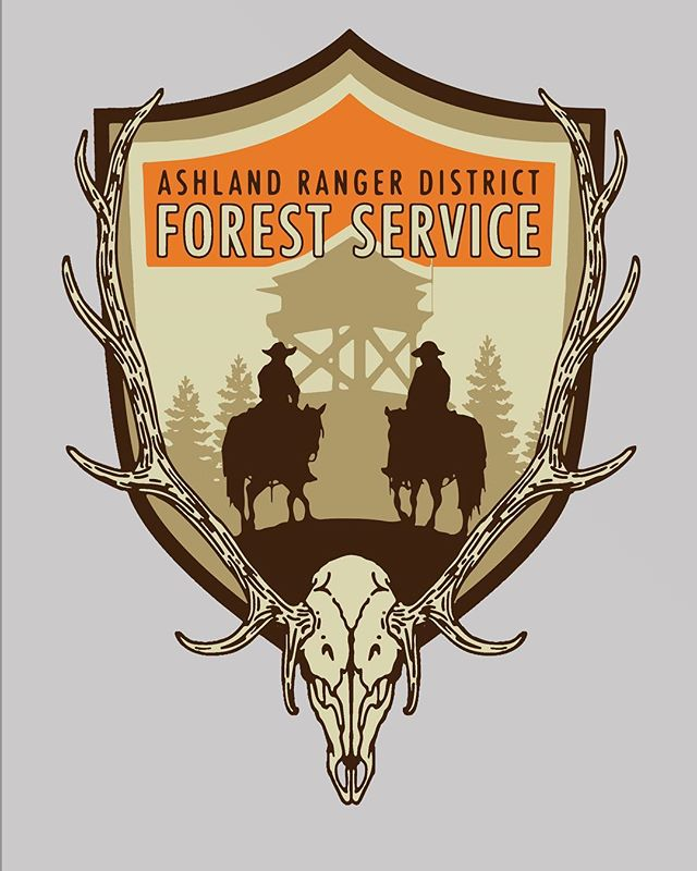 I submitted this draft over the weekend to a Forest Service client, can't wait to hear what they think! #graphicdesign #forestservice #montanaartist