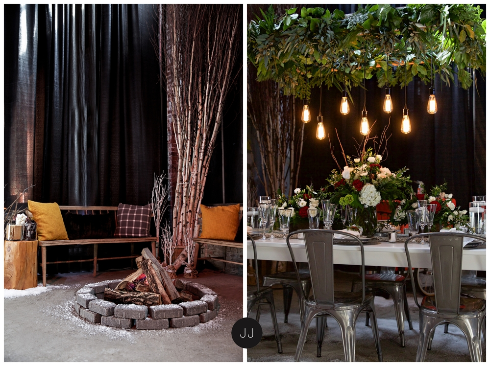 Space designed by Lulu & Co. Event Design
