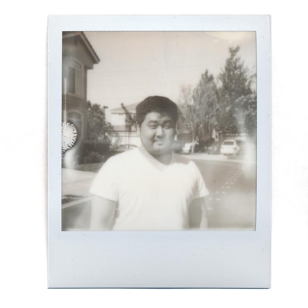 Andrew Kim on B&W SX-70 Film