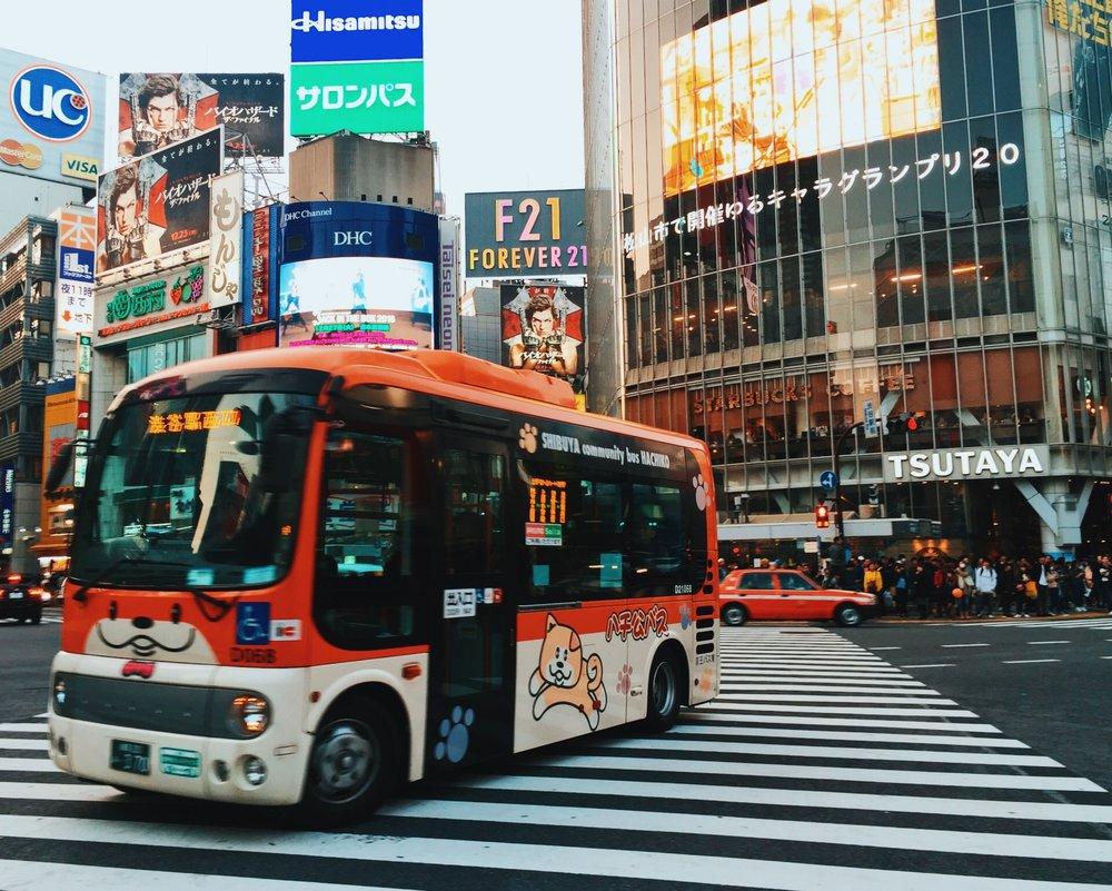 SHIBUYA 渋谷 - JR Yamanote / Shonan-Shinjuku / SaikyoTokyu Den-entoshi / ToyokoTokyo Metro Fukutoshin / Ginza / HanzomonKeio-Inokashira Line