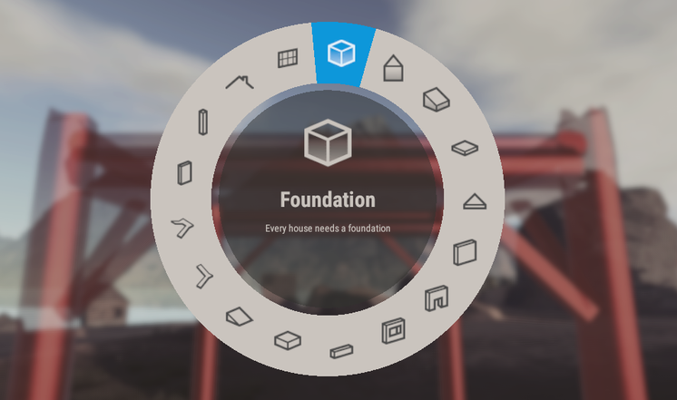 Rust Building System Unity