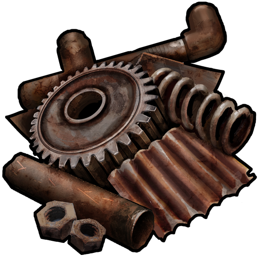 Rust Crafting List