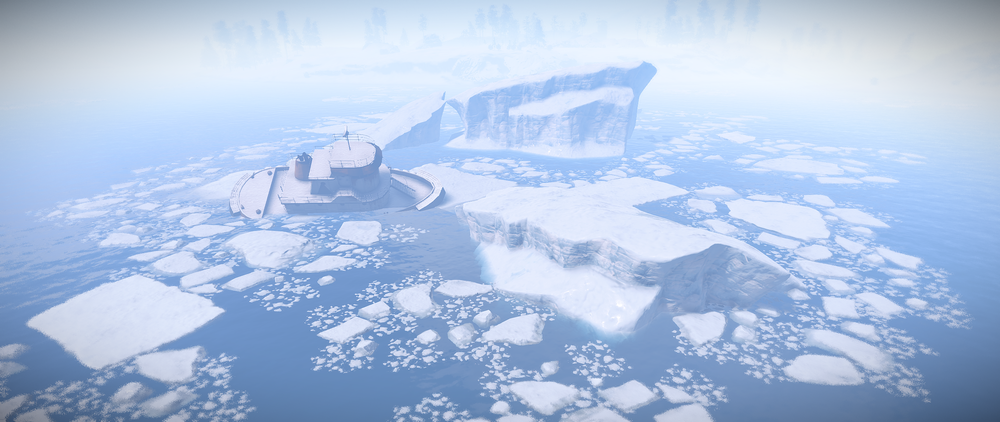 New Icebergs, Ice Sheets, Ship Wrecks