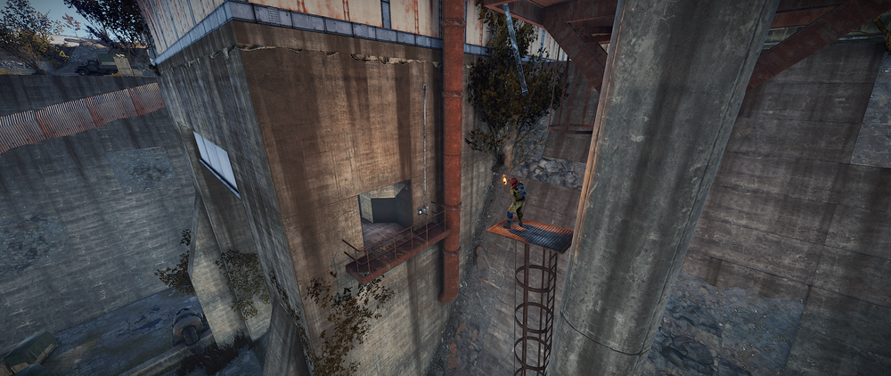 Jump across to the ledge