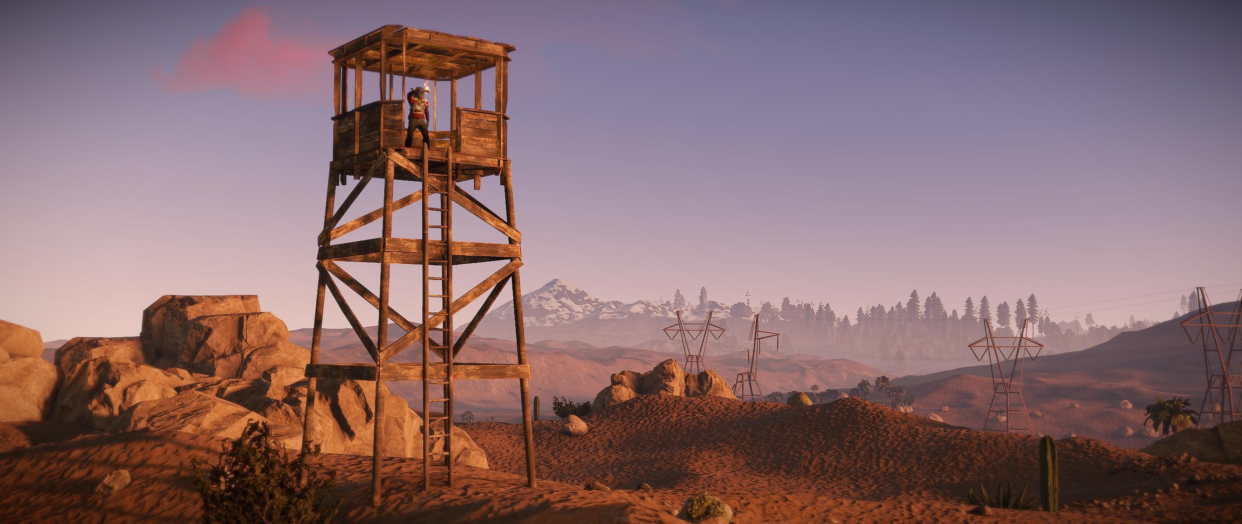Rust - interfejs teamu, wieże obserwacyjne i więcej