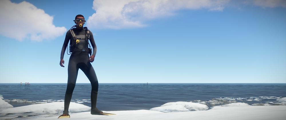 New diving gear models