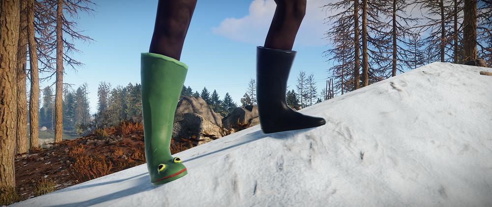 Frog boots return
