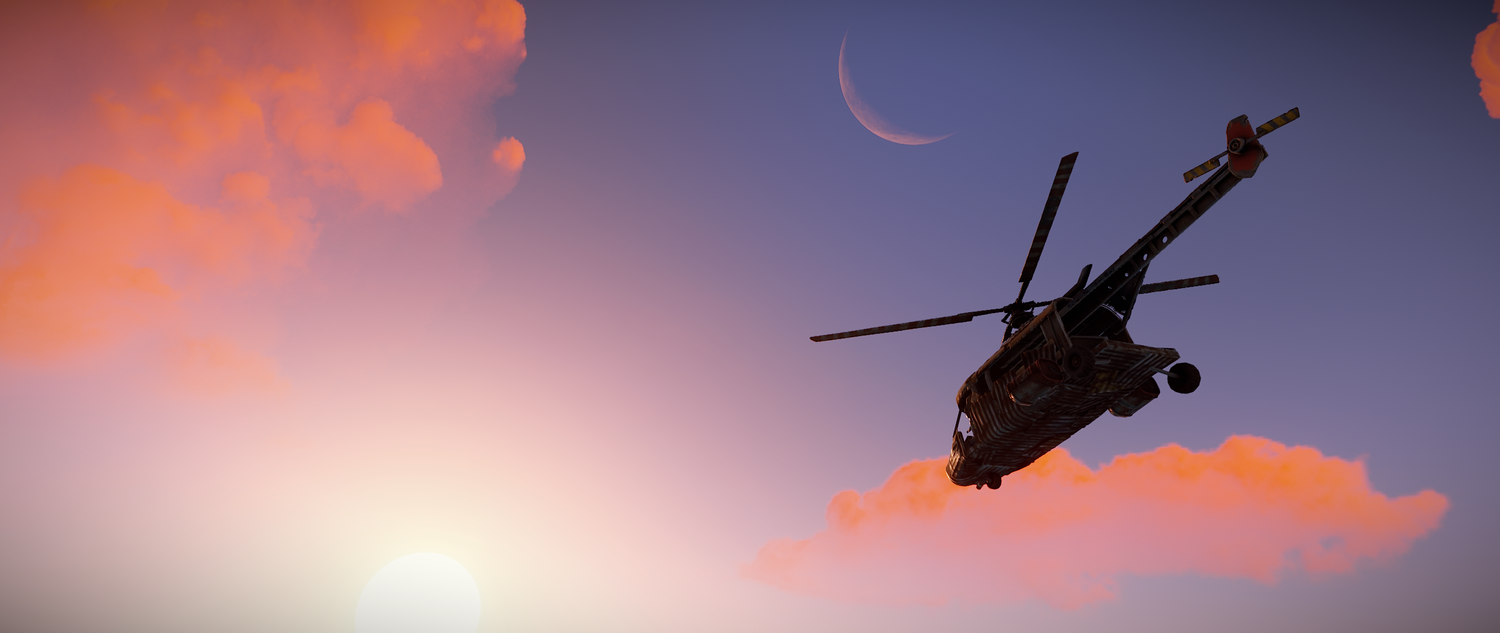 Scrap Helicopter is here! — Rustafied