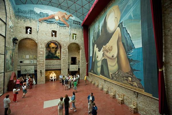 Salvador Dali Museum,Figueres, Spain