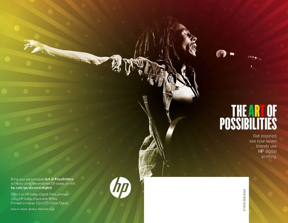 HP Art of Possibilities 2013