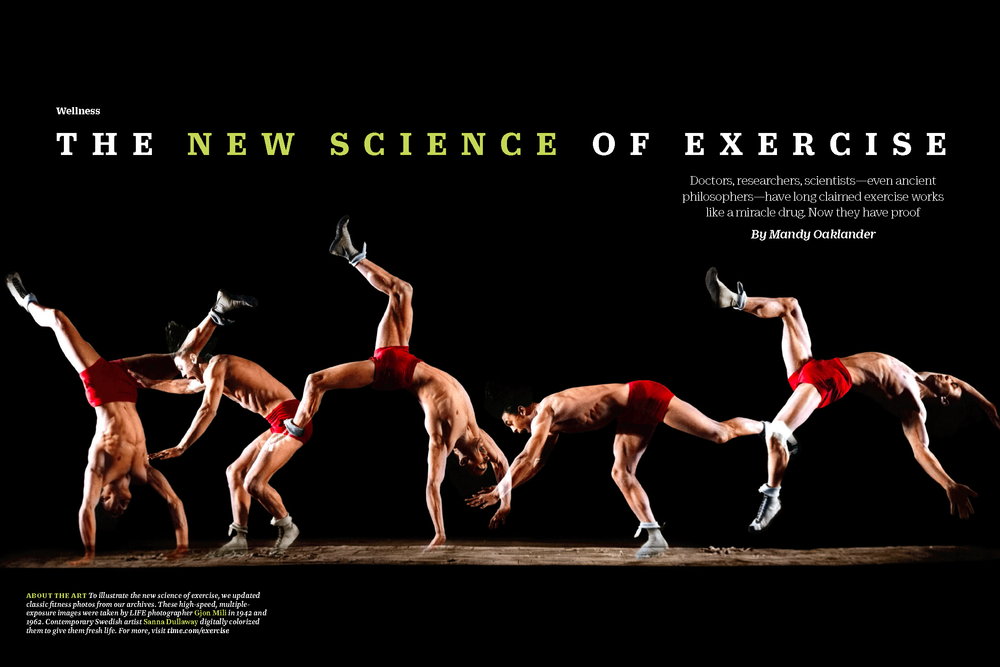 The science of exercise