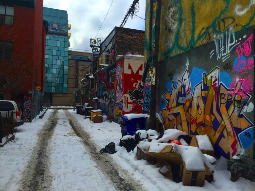 Rush Lane/Graffiti Alley