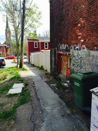 Laneway Graffiti (Image Credit: Mia Feng)