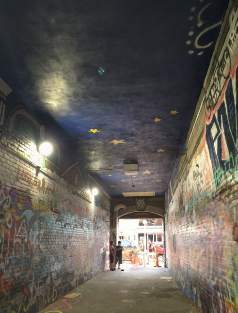 Ann Arbor, Michigan - Graffiti Alley