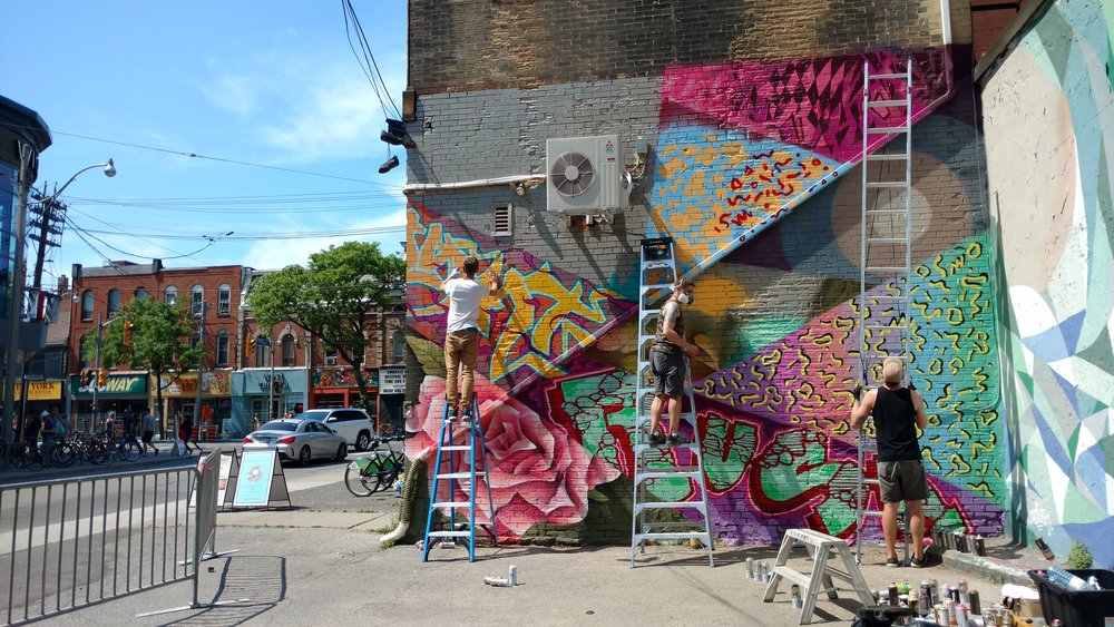 Laneway Mural -
