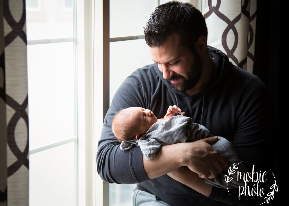 In-home Newborn Photography - Mobie Photo