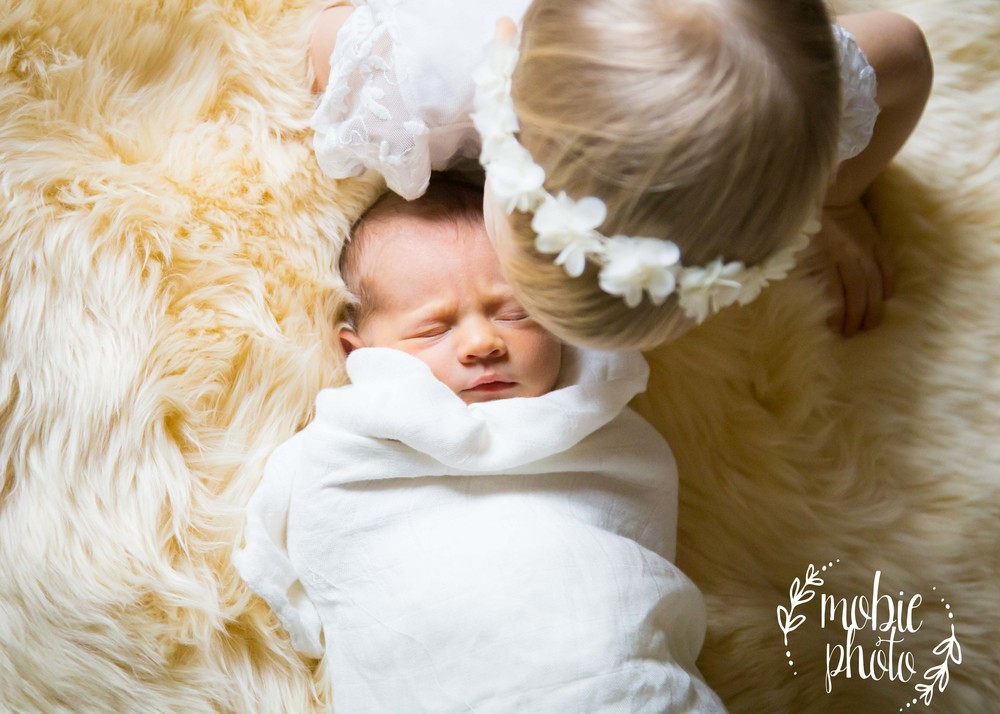 In-home Newborn Photography - Draper, Utah - Mobie Photo