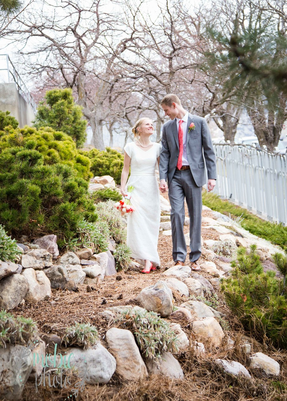 Mobie Photo - Logan Utah Temple Wedding