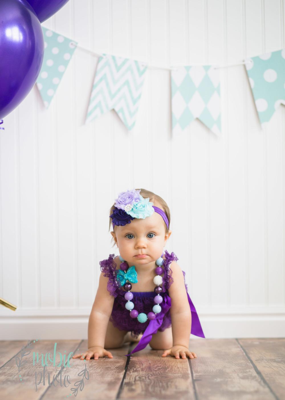 Mobie Photo - First Birthday Pictures - Lehi, Utah