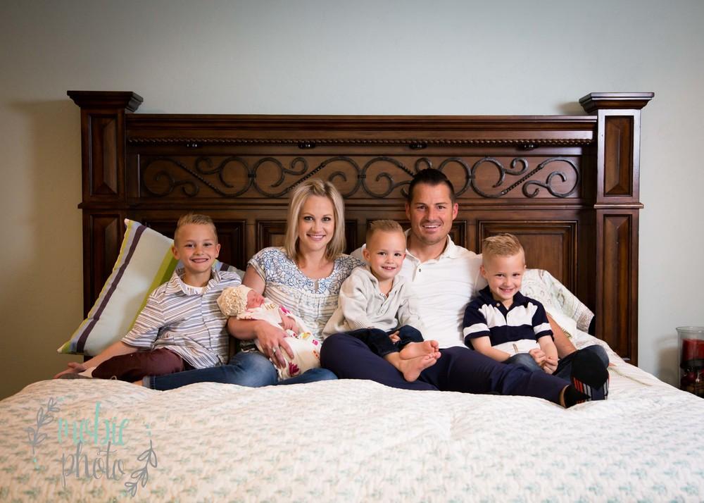 Mobie Photo - In-home Newborn Photography - Herriman, Utah