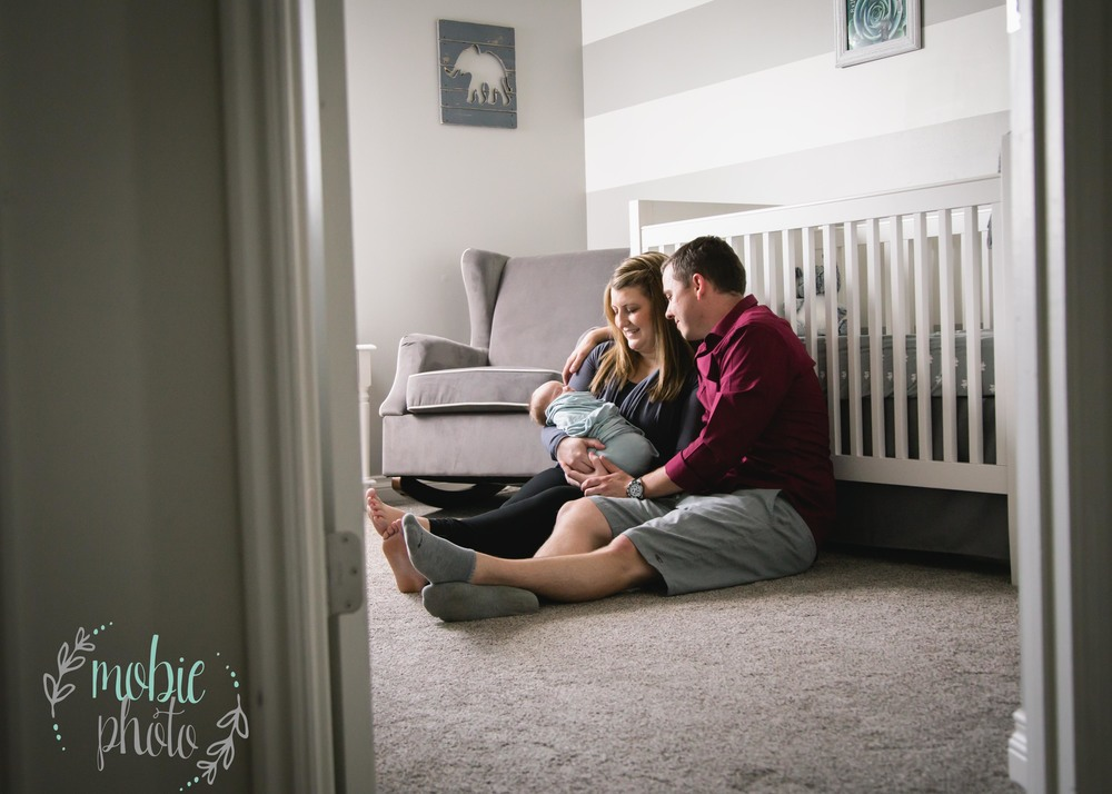 Mobie Photo - In-home Newborn Photography - West Jordan, Utah