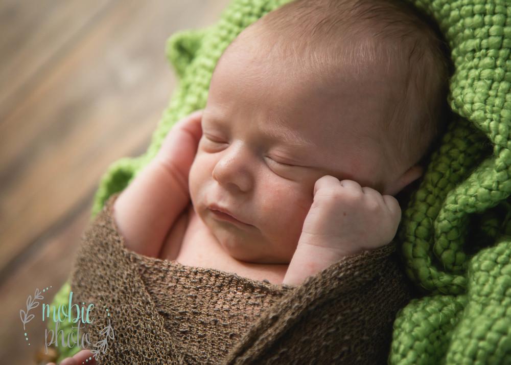 Mobie Photo - In-home Newborn Photography - West Jordan, Utah