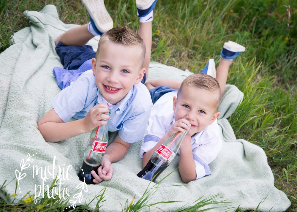 All American - Baseball and Coke - Kids picture ideas.