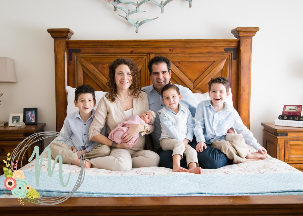 In-home Newborn Photographer - Draper, Utah
