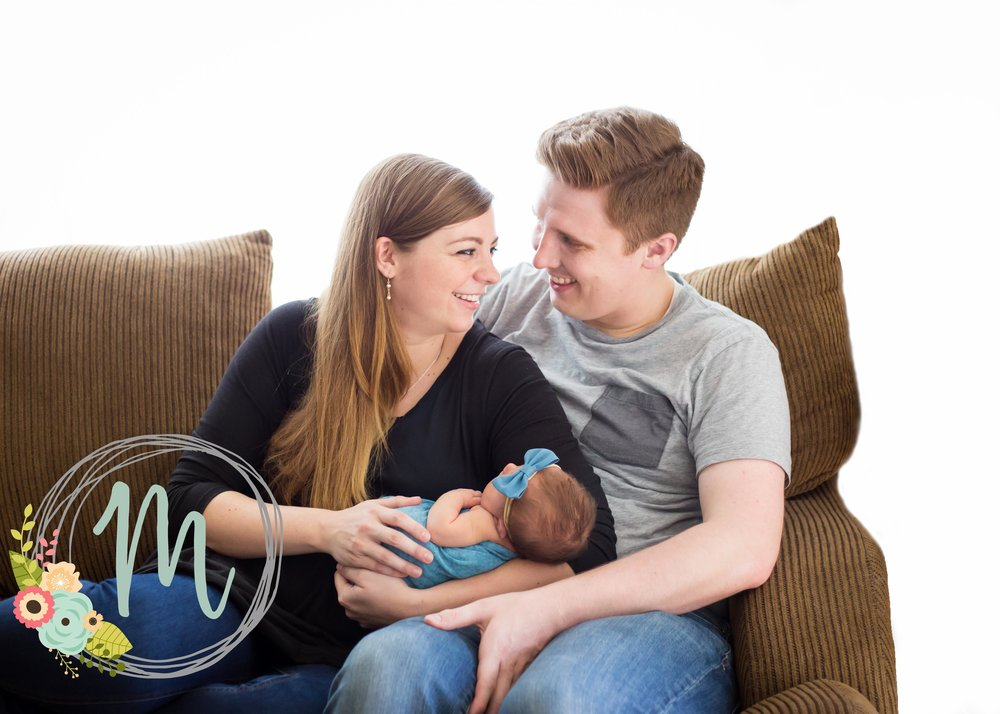 In-home Utah Newborn Photography - Millcreek, Utah