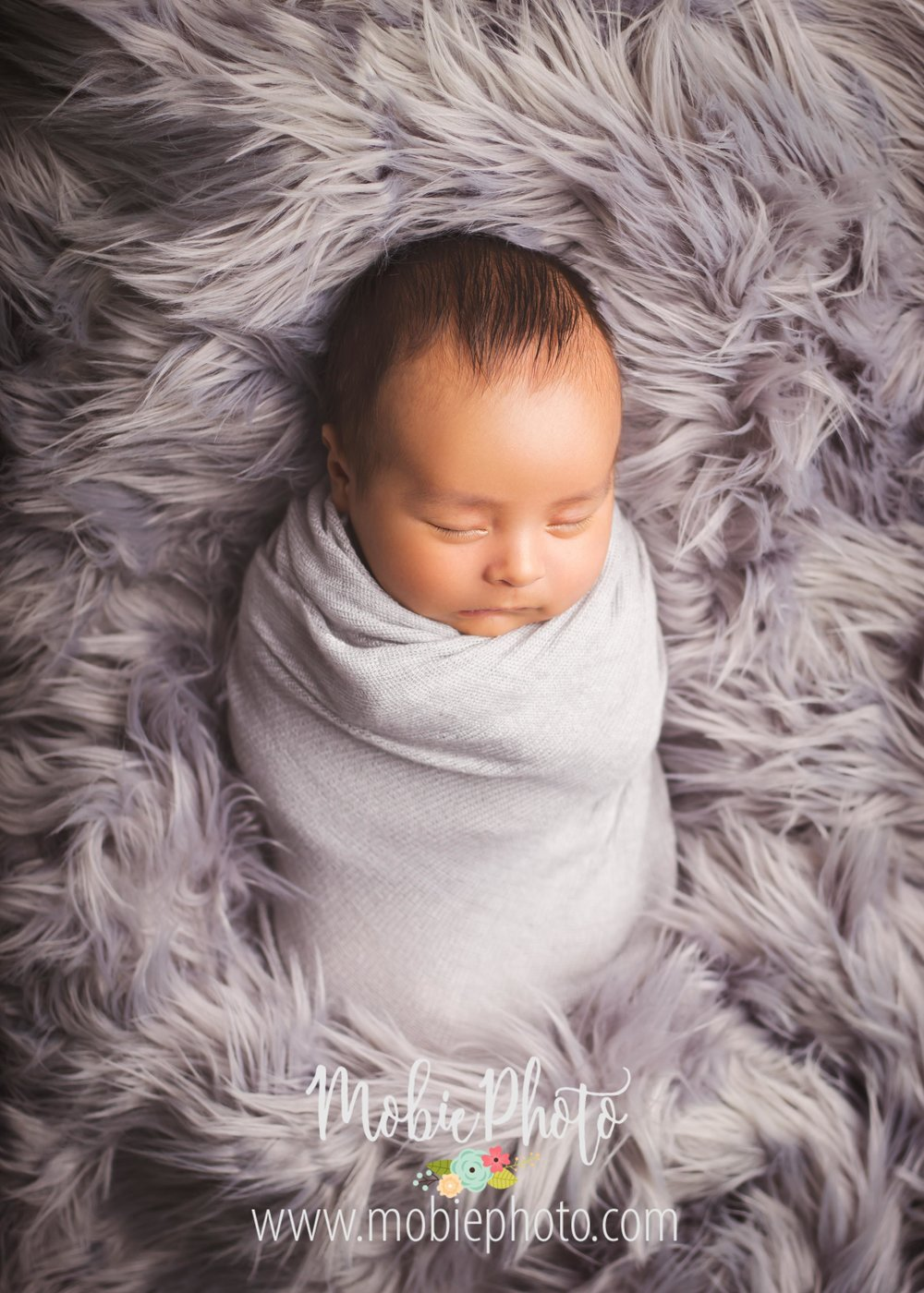 Six Week Old Newborn Shoot - Mobie Photo - Utah Newborn Photography