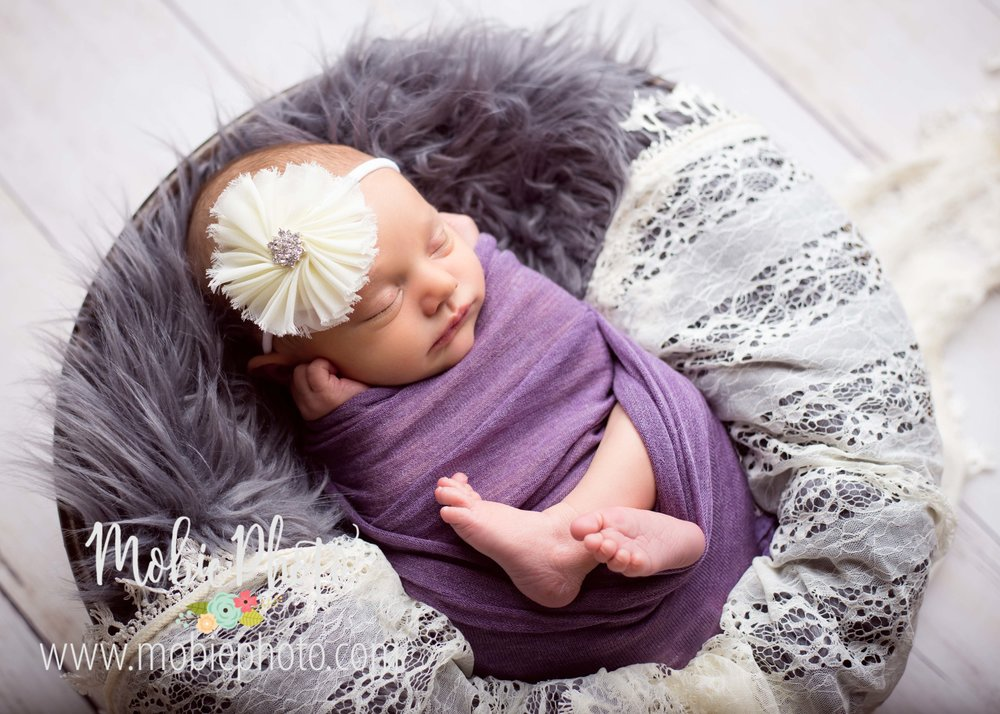 Utah Newborn Photographer - Seven Days Old