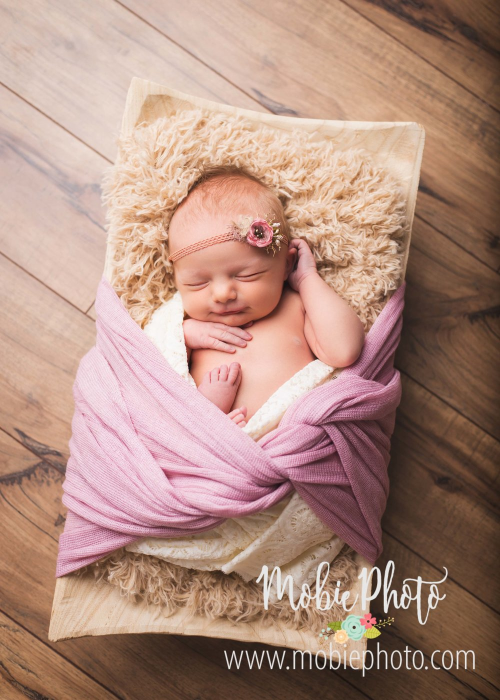Utah Studio Newborn Photography - Mobie Photo www.mobiephoto.com