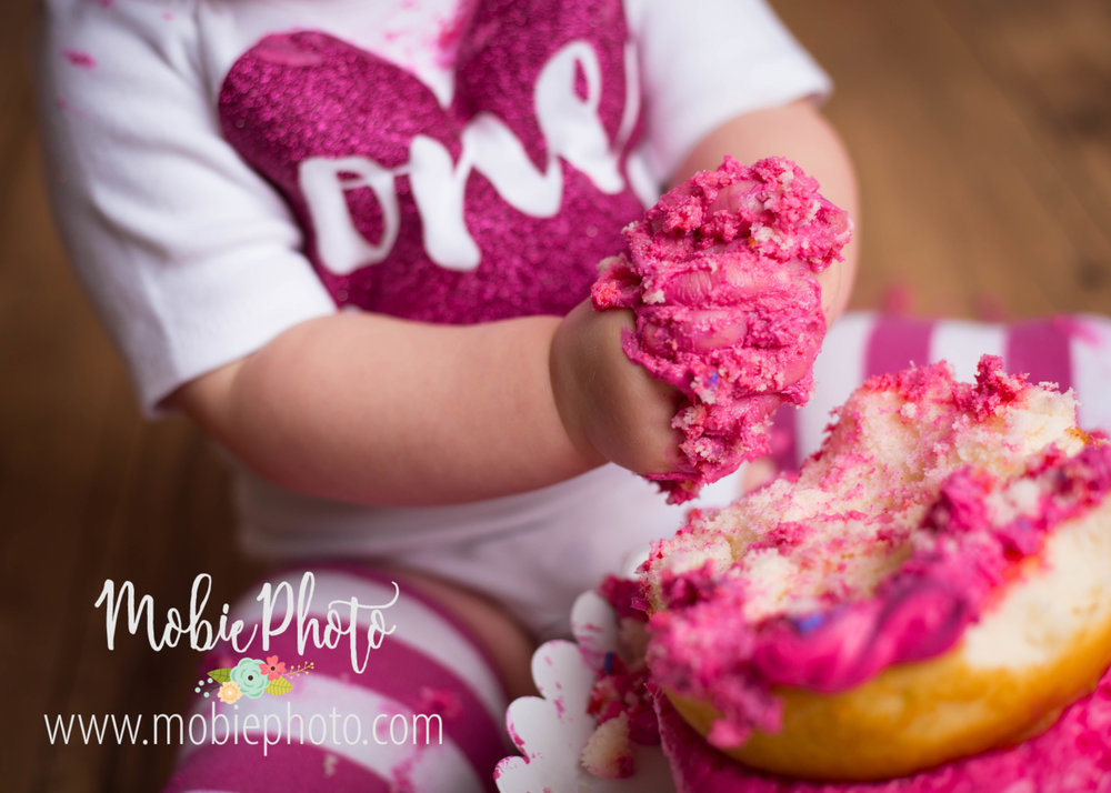 Utah Newborn Photographer - First Birthday Milestone Session